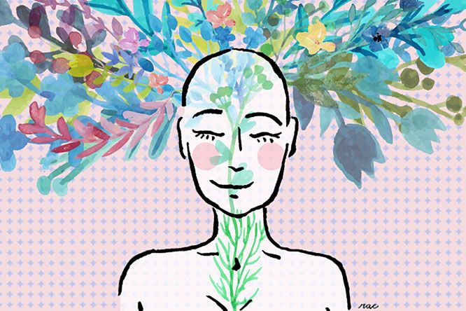 Como A Calvice Feminina Mudou A Minha Visão Sobre Mim   Ilustração: Raquel Thomé