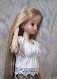 スモック風ブラウス 「パプペポ」着せ替え人形の手作り服の作り方