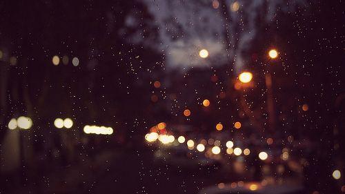 #lights #night #rain #luces #noche #lluvia #santiago