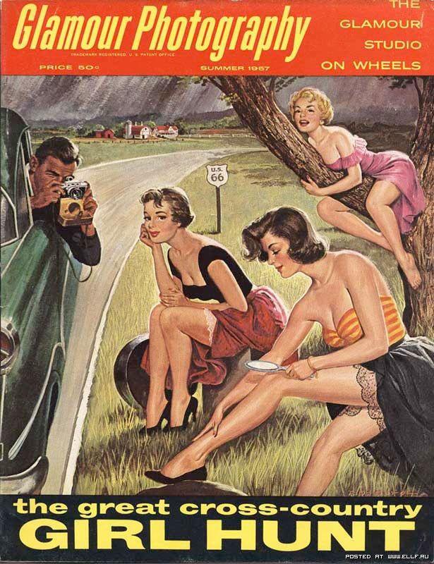 Винтажные обложки журналов XX века (44 фото)