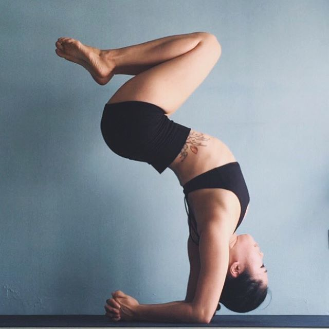 Here's a little shout out to she has a cool account and we love how she  shares her yoga tips so freely !