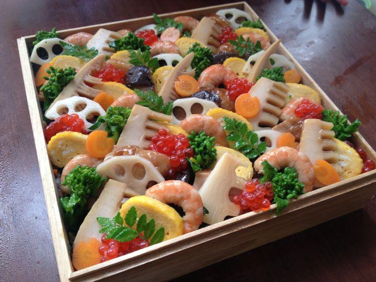 Japanese chirashi sushi. For my daughter. #sushi #japanesefood #ちらし寿司 #和食 #おうちご飯 #寿司