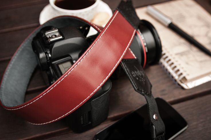 #HandCrafted, genuine #leather #camerastrap,  Imperial by #Redier