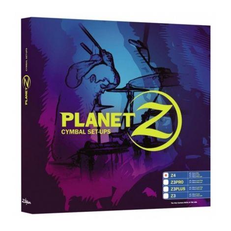 """Zildjian Cymbals, Planet Z Z4 /4 Cymbal PrePack (14"""" 16"""" 20"""")"""