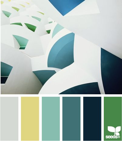architectural color - http://design-seeds.com