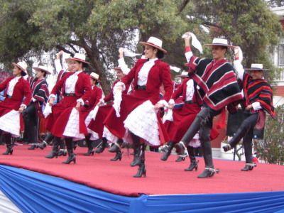 Baile La Cueca  grupal.