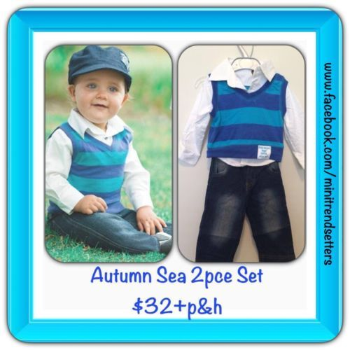 Autumn Sea 3 pce Set