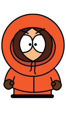 Kenny from South Park step 5