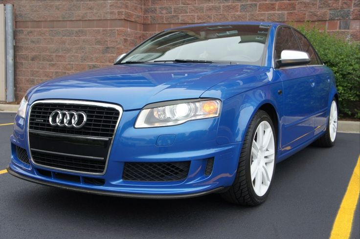 Car brand auctioned:Audi S4 SEDAN 4 DOOR Audi S4 B7 4.2L V8 DTM SPORT PACKAGE SEDAN 4 DOOR SPRINT BLUE