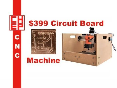 Chuck shows you how he milled a Prototype Printed Circuit Board on a $399 Sienci Mill One CNC. He shows you the modifications he made to create a perfectly level bed. If you work with ExpressPCB and can't get the Gerber files, he shows you a trick to get a round that using Easel software....