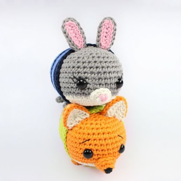 Judy & Nick Tsum Tsum Dolls Amigurumi Pattern