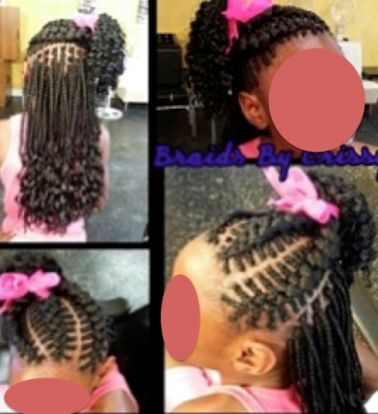 Stupendous 1000 Images About Little Black Girls Hair On Pinterest Natural Short Hairstyles Gunalazisus