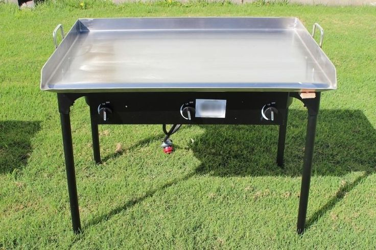 CONCORD 36 x 22 Stainless Steel Flat Top Griddle Grill w/ Triple Burner Stove #CONCORD