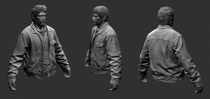 The Last of Us Characters Sculpt Joel-winter-03