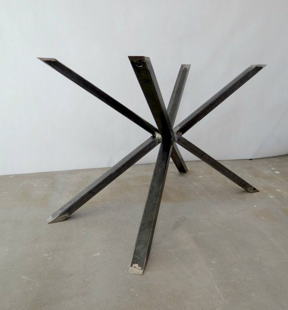 Metal Dining Table Legs For Square Or Round Table Spider Steel
