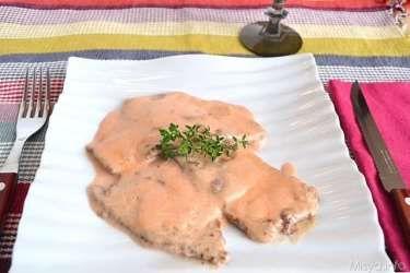 » Scaloppine rosa al mascarpone Ricette di Misya - Ricetta Scaloppine rosa al mascarpone di Misya
