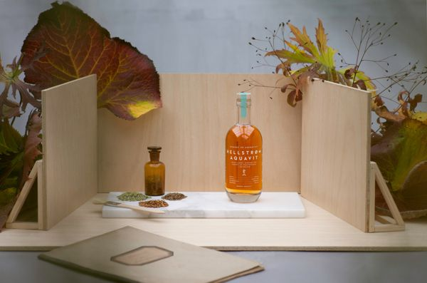 Hellstrøm Aquavit on Packaging of the World - Creative Package Design Gallery