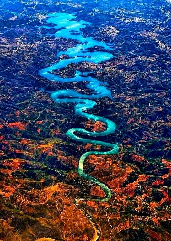 The Blue Dragon River, Portugal
