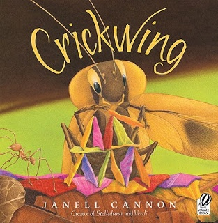 This book contains vivid verbs (scrambled, chortled, stammered) and lots of adjectives (eensy, brilliant) ~ use as a mentor text to improve writing ~