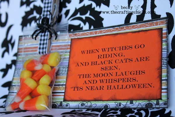 Halloween treats with a great poem!