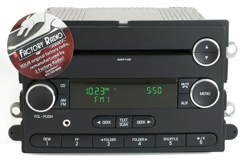 Reman & Mod SERVICE for 2008-09 Ford Taurus Mercury Sable AM FM CD Player Radio