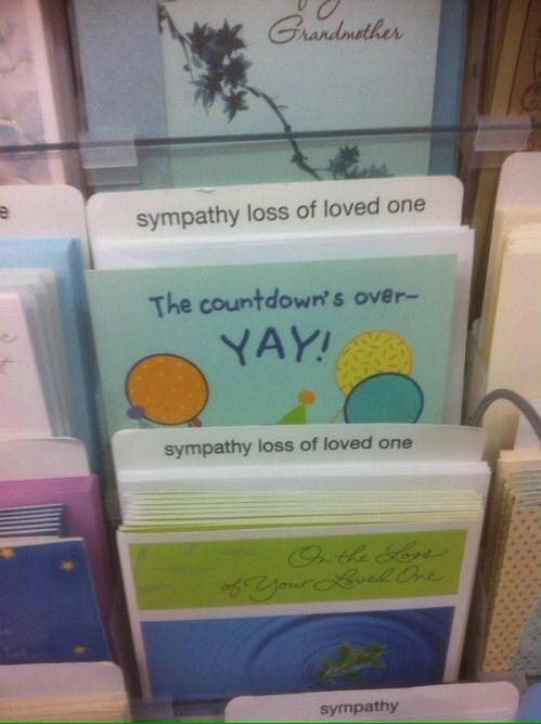 The person who had to sort the cards. | 26 People Who Managed To Mess Up Their One Job