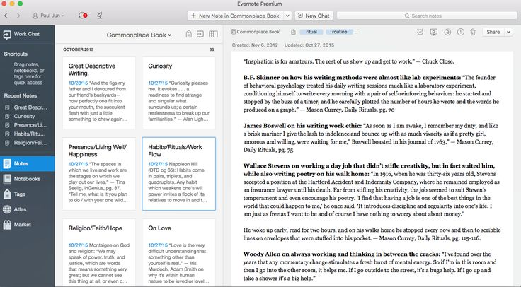 How to Keep a Commonplace Book with Evernote