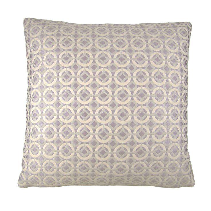Agadir Mauve Cushion Cover | Dunelm