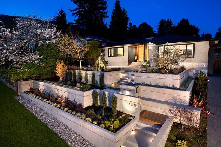 9 besten Gartenmauer Bilder auf Pinterest Garten terrasse - pflegeleichter garten modern