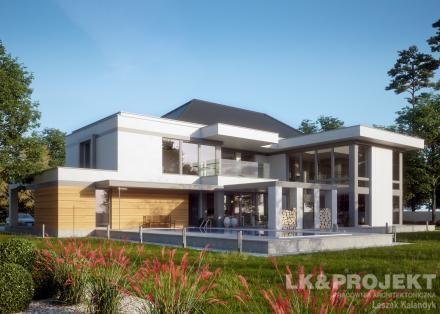 Projekty domów LK Projekt LK&1344 - http://lk-projekt.pl/lkand1344-produkt-9663.html