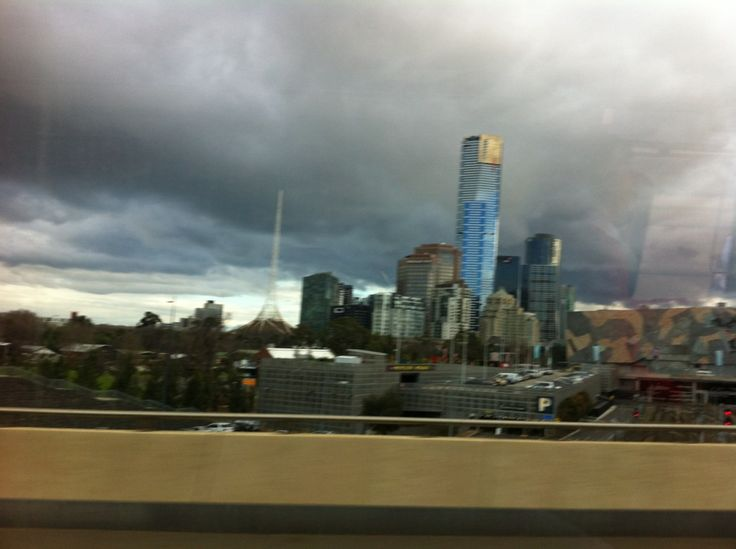 A beautiful view of Melbourne City!