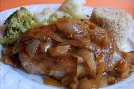 Vidalia Onion Sauce  Try this over fresh steamed veggies, pork chop, steak or burger or just spruce up some cooked noodles or rice, yum!
