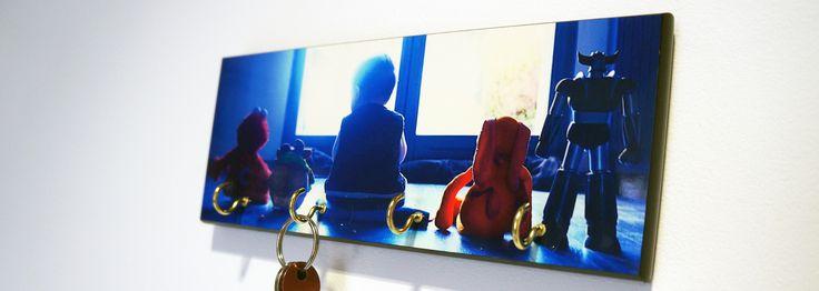 un support mural pour accrocher vos cl s et ne plus jamais les chercher partout personnalis. Black Bedroom Furniture Sets. Home Design Ideas