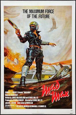 Cult car film Mad Max, an Australian classic known world wide.