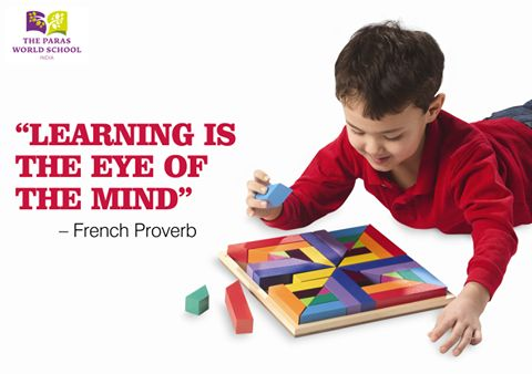 Learning is a lifelong process. For more info, visit: http://www.parasworldschool.com/