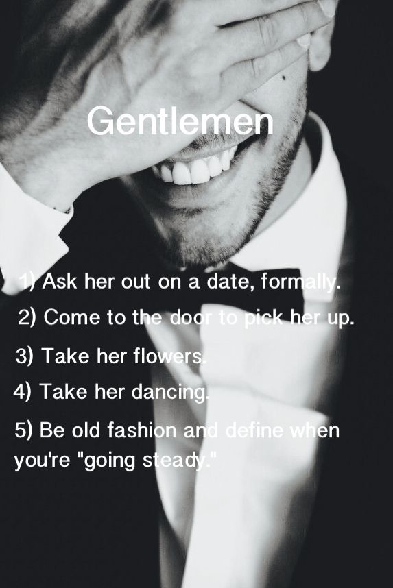 24 Rules For Dating Like A Gentleman