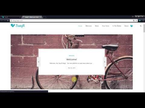 Tutorial: 3asyR for websites - YouTube