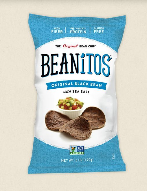 Beanitos' Flavored Chips Have a Base of Beans Rather Than Potatoes #healthy #packaging trendhunter.com