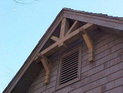 25 best ideas about craftsman exterior on pinterest - Exterior house gable decorations ...