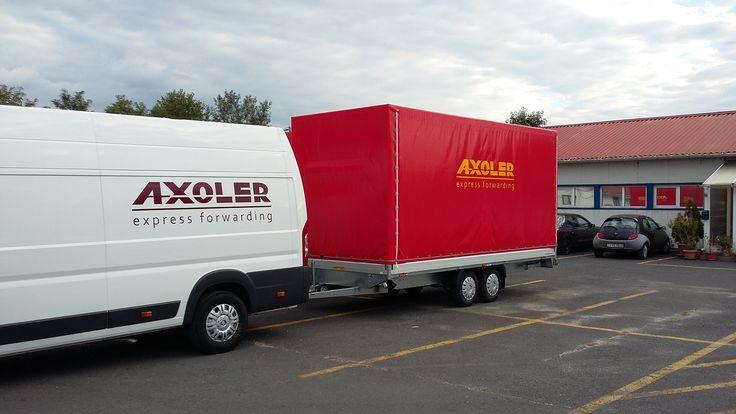 Axoler utánfutó bérlés www.axoler.hu
