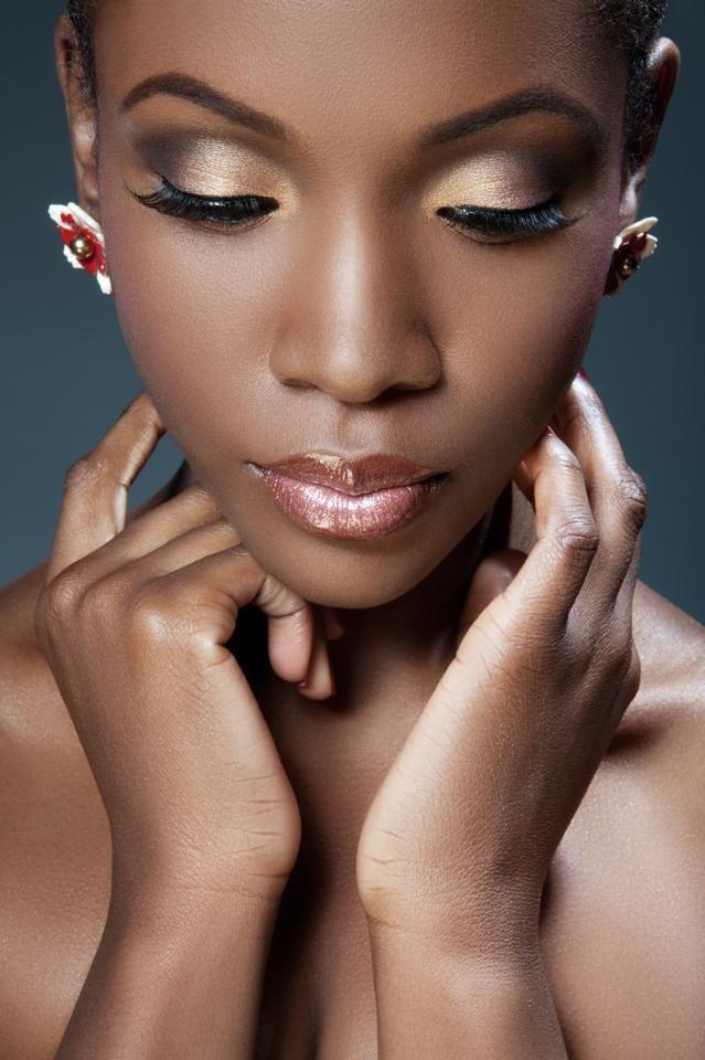London bridal wedding Makeup Artist for Black Skin