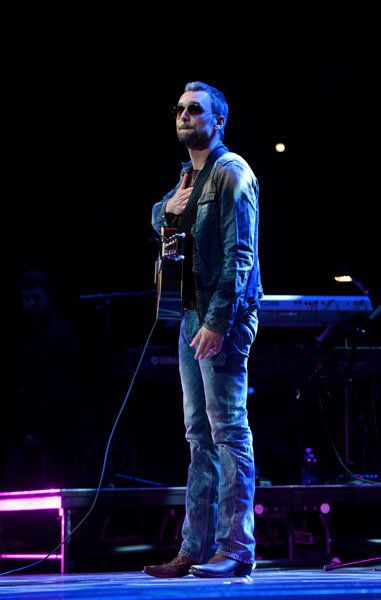 Eric Church performs during Playin' Possum! The Final No Show Tribute to George Jones on Nov. 22, 2013, in Nashville.