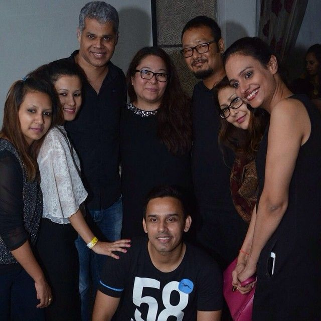 Super cool #Raman and #Kirti Bhardwaj and their fabulous team of hairdressers at #A N JOHN SALON- #kolkotta's pride and top salon!! Had a blast training his team for #bridalhair and what makes it different from red carpet hair. Raman you're an iconic leader with vision. And your faith in your team makes you different from other salon owners!!! Thank you team #A N JOHN! #hairdressing #beautiful hair # #hairtrends #happyhairdressers #salonprofessionals #SALONANJOHN