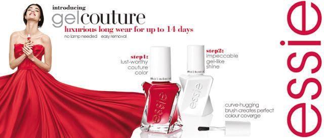Kate Tzoe: Essie : Καινούργια συλλογή Gel Couture