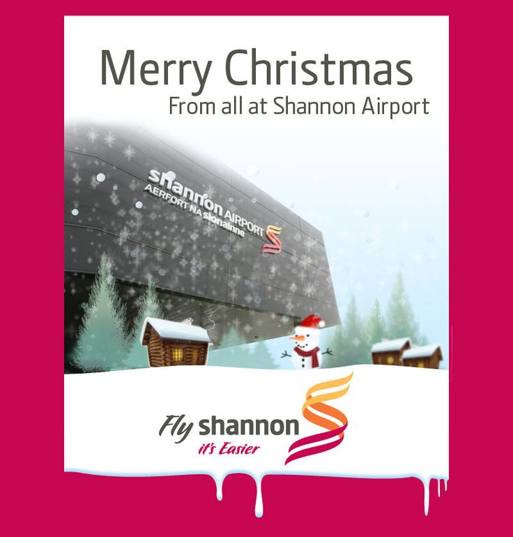 Twitter / shannon_airport: Happy Christmas! (Dec 2012)