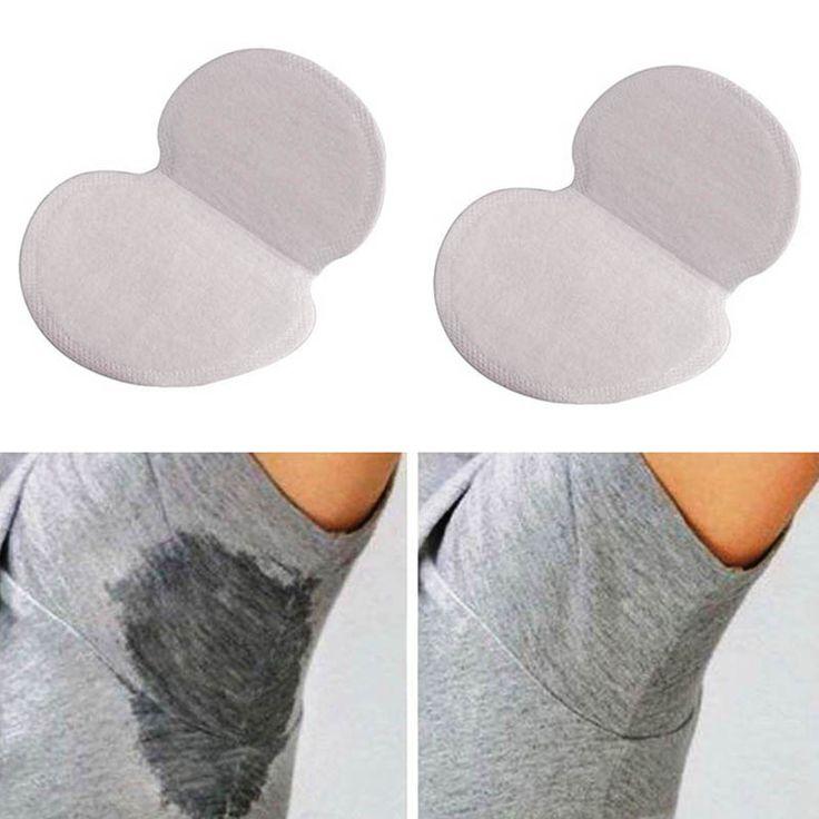 50 Pcs/Set Summer Women Men Armpits Sweat Pad Disposable Deodorants Underarm Anti Perspiration Absorbing Pads E2S