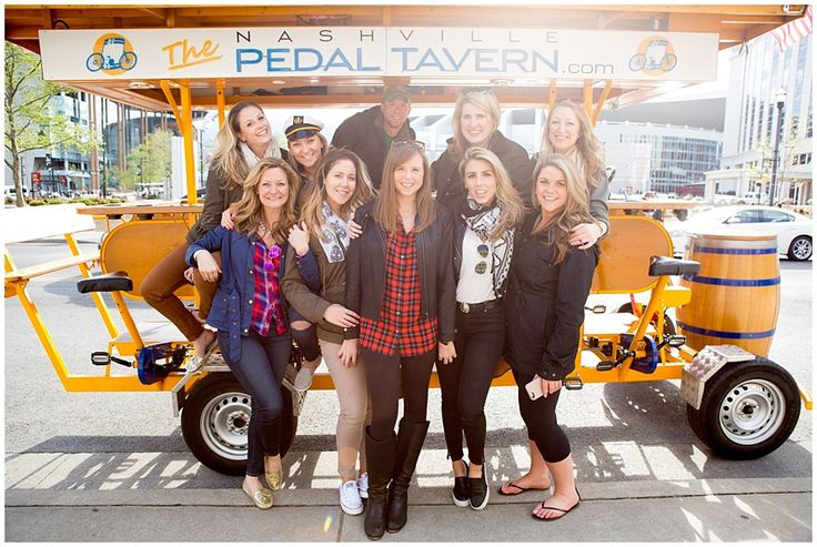 nashville pedal tavern, Nashville Bachelorette Party Ideas