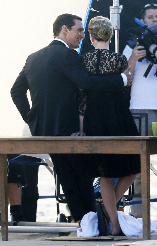 Мэттью Макконахи и Скарлетт Йоханссон в рекламе Dolce & Gabbana. Галерея №2