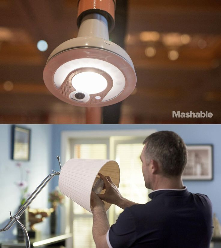 The Snap lightbulb can recognize your face — or perhaps more importantly, the faces of people who shouldn't be in your house when you're away.