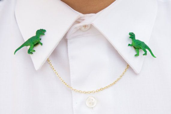 T-Rex Collar Clips / Cardigan Clips / Sweater Clips by ClipArtIRL